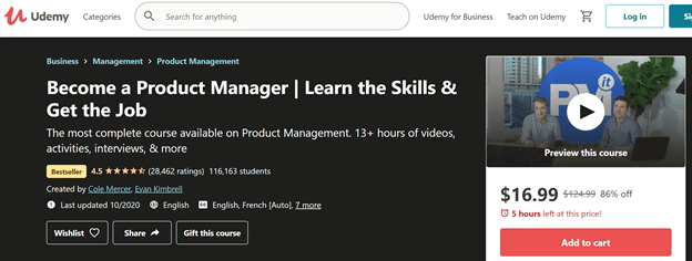 Udemy-Become-a-Product-Manager